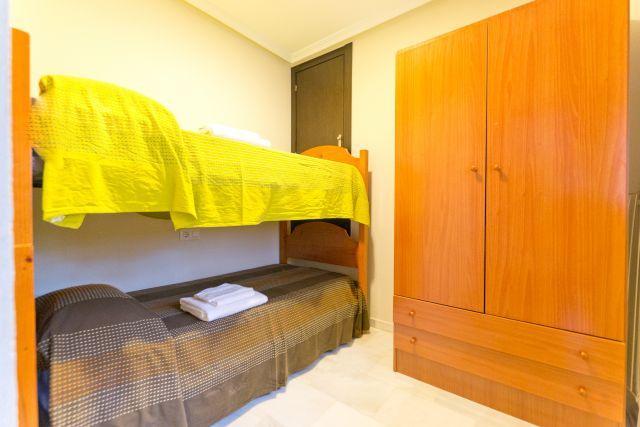 Habitacion con cama litera