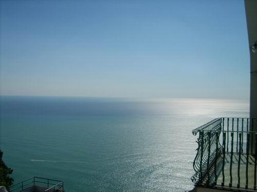sea view from the balconies
