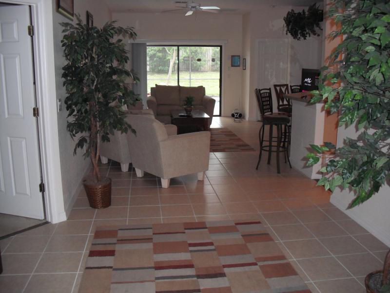 large lounge area with quality sofas and large flat screen hd tv,dvd,