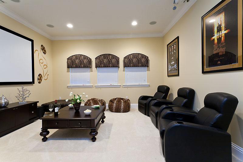 Volledige Home Cinema/theater met reclining zetels