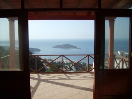 The view from the Mavi Su