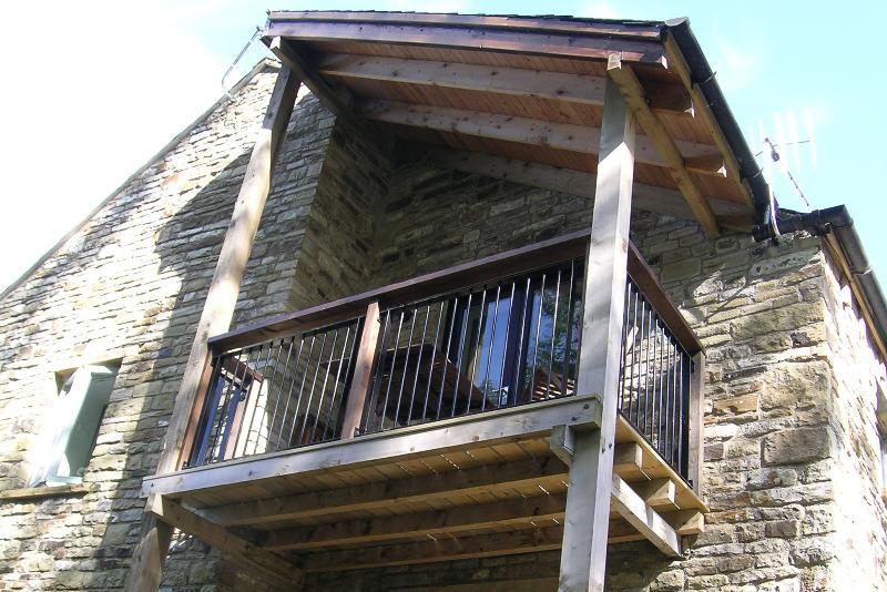 Sowerberry balcony