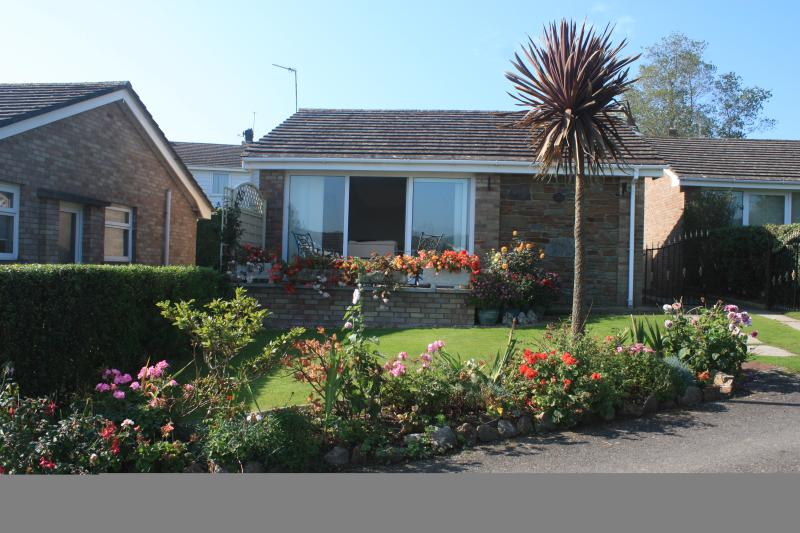 Our Holiday bungalow, Port Eynon, Gower, Swansea, South Wales, United Kingdom