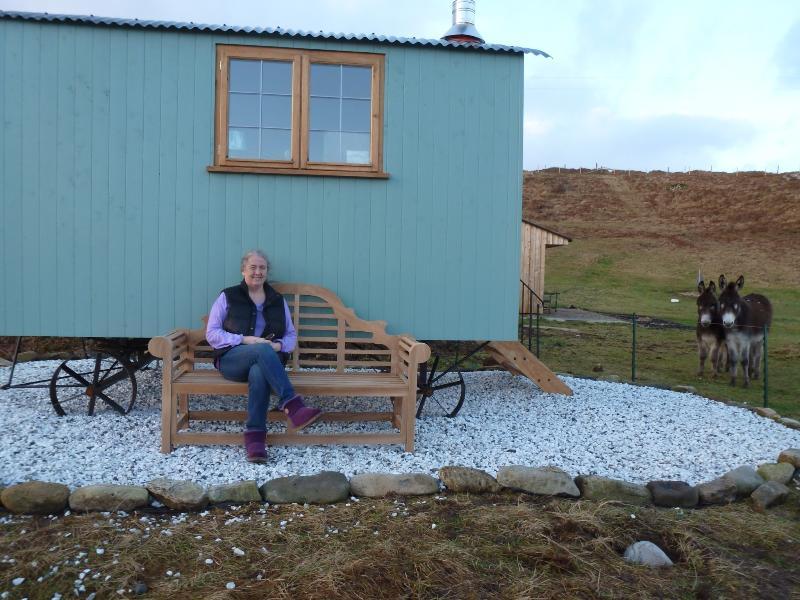 Skye Shepherd Huts - Buidheag, holiday rental in Broadford