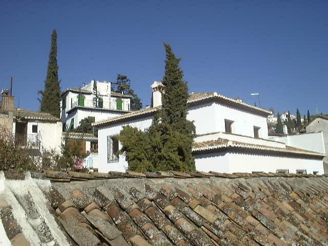Detalhes da vista do terraço