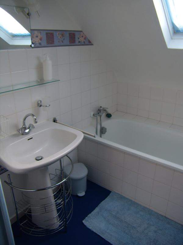 Bathroom for the 2 alcoves