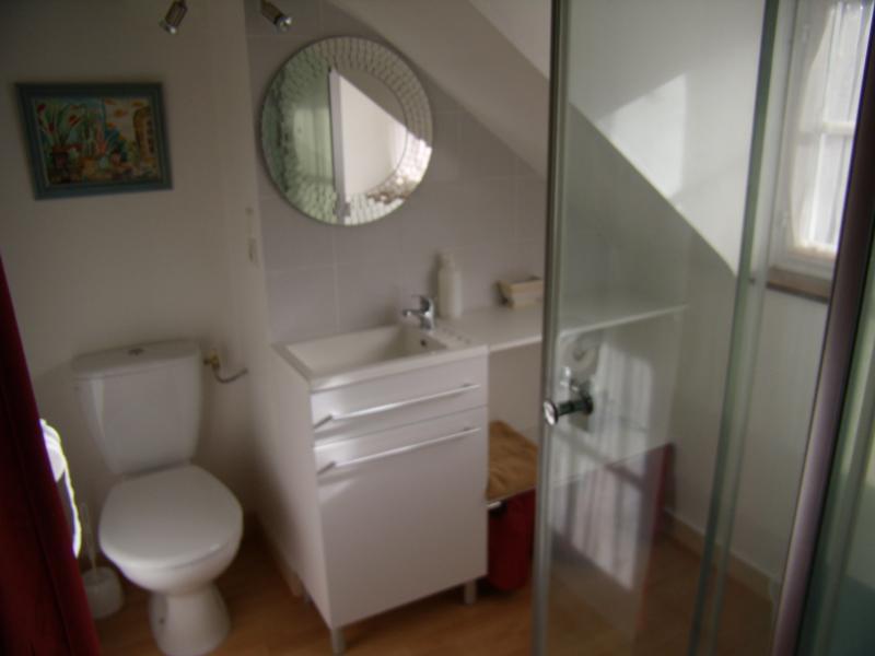 The ensuite bathroom & WC