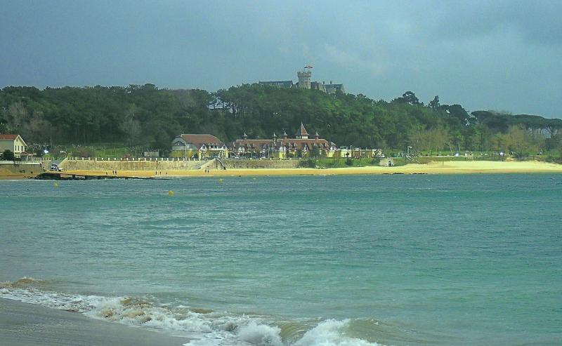 Vista del Palacio de la Magdalena