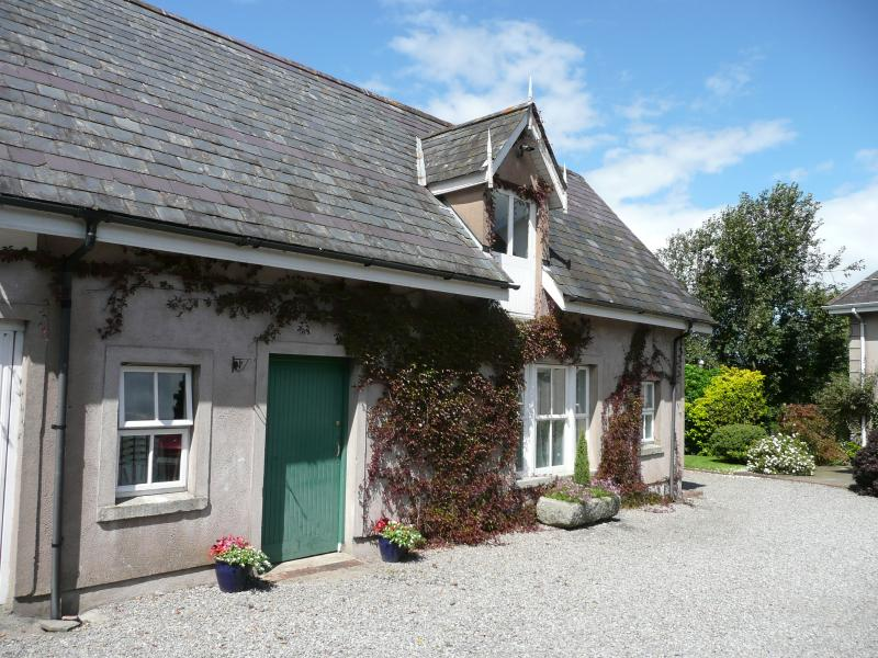 The cottage is well in from the road with plenty of private parking.