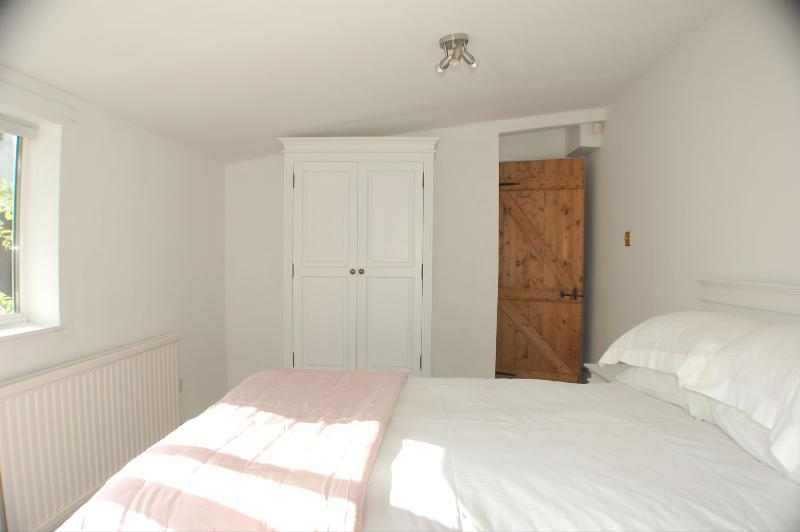 double bedroom with one double bed