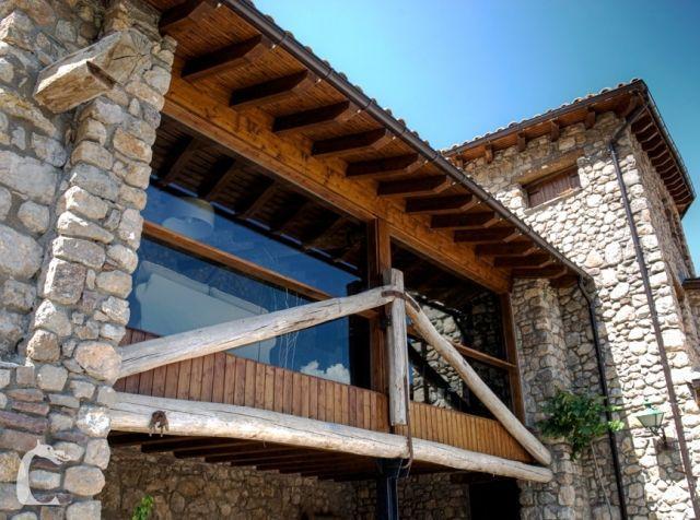 Barbacoa y conexión internet con encanto, location de vacances à La Torre de Cabdella