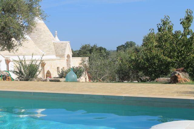I Trulli di Cristoforo: Salento, piscina privata, aria condizionata, wi-fi,relax, holiday rental in Chiobbica