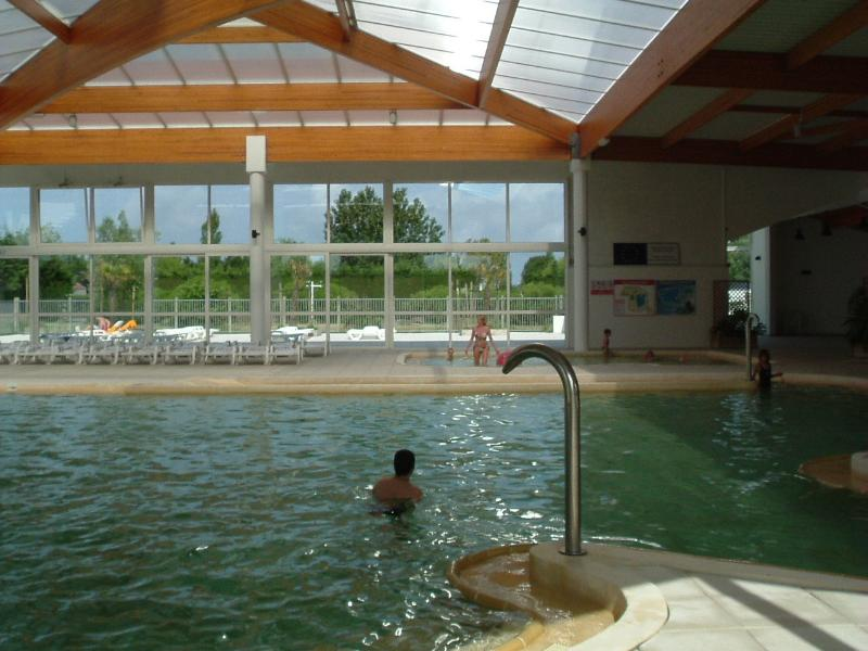 Further view of the indoor pool. This is open from late May to early September.