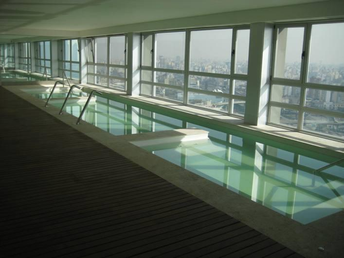 Indoor pool Floor 27th, great view!