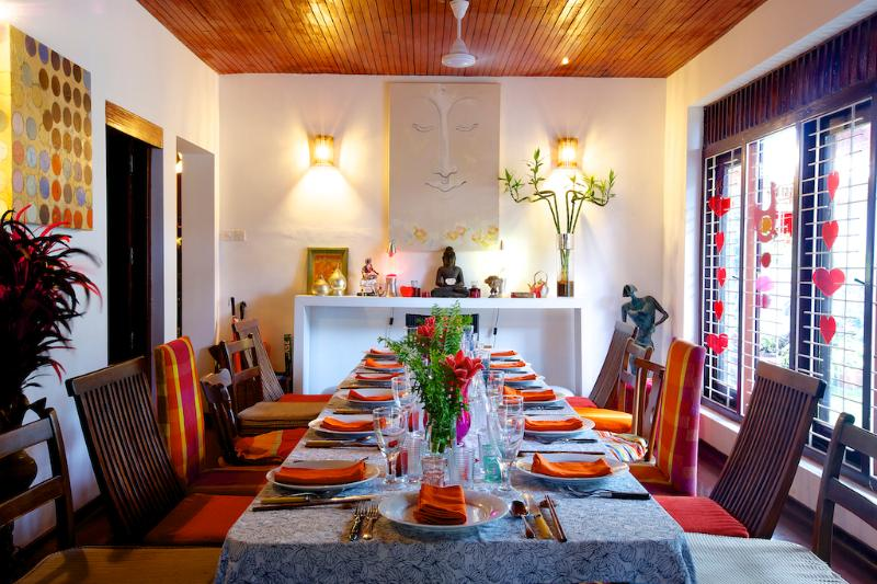 Communal or Private Dining in the Hall