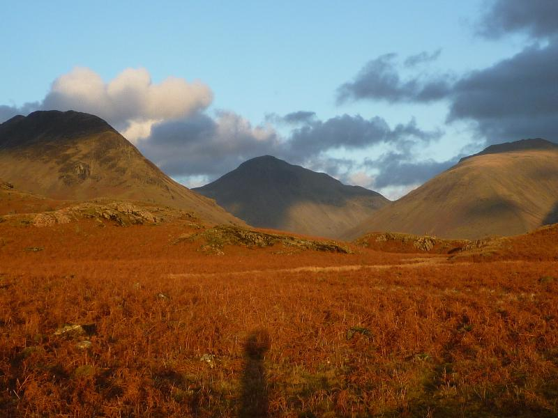 Yewbarrow, Great Gable and Lingmell