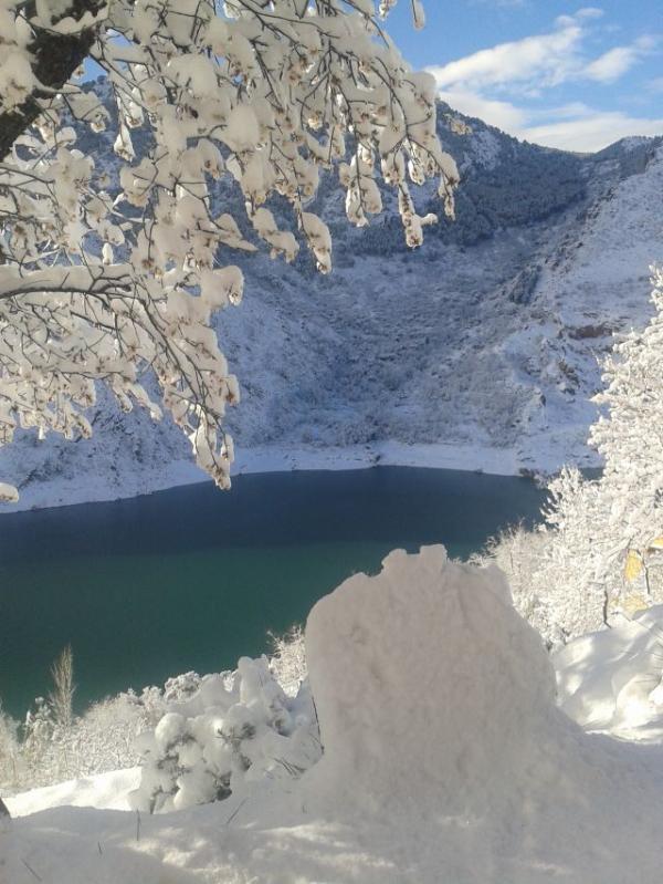 Vistas de la nevada