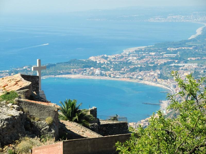View from Madonna della Rocca