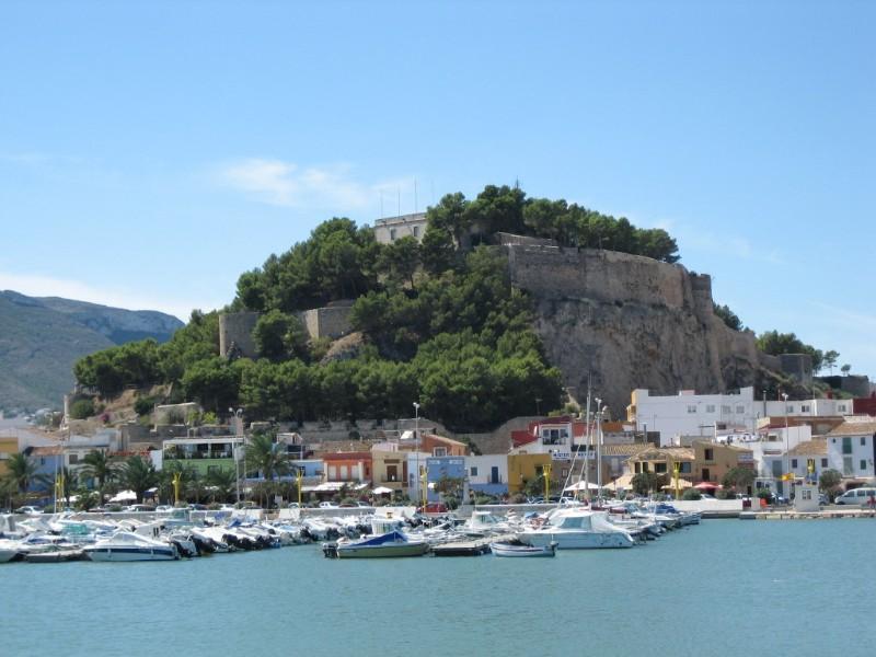 Het kasteel Dénia