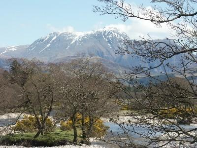 Ben Nevis, from the other side of Loch Linnhe.