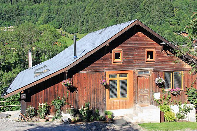 Chalet Migi in the summer