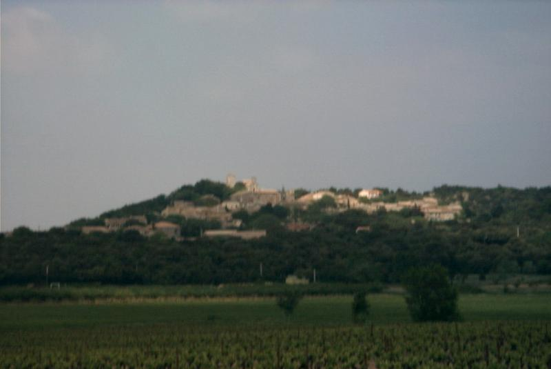 village seen from the distance