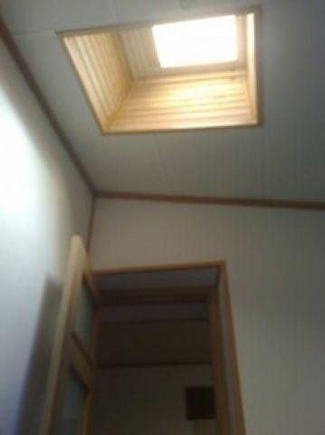 Bedroom ceiling window