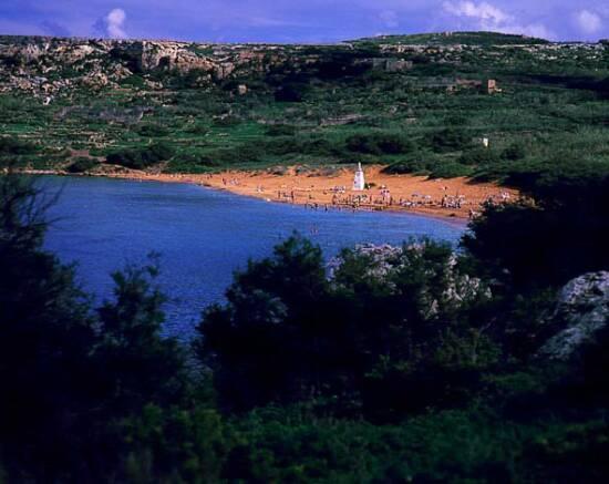 Ramla Bay from Across