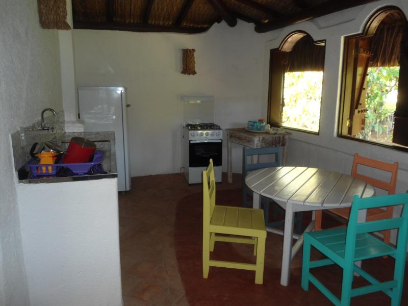 chalè 2 kitchen