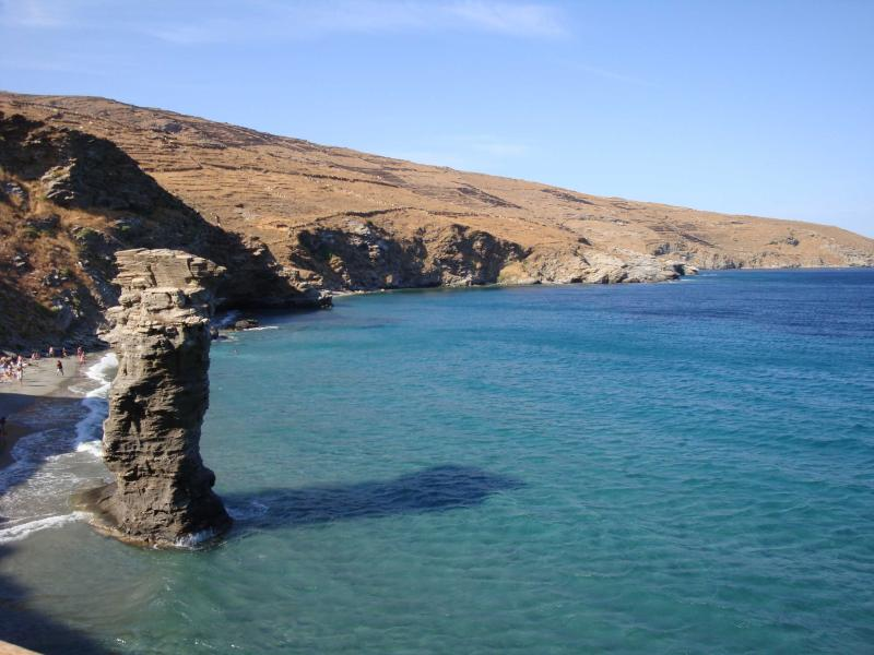 Villa with sea view, holiday rental in Andros