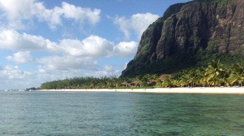 UNESCO Le Morne Brabant Our local beach is a ten minute drive 9 miles of pristine sand and ocean
