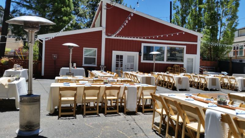 Great location for 'rustic barn' events