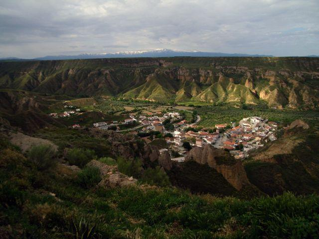 Gorafe from the caves.