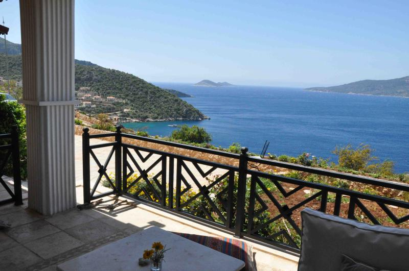 View of Kalkan Bay from private terrace