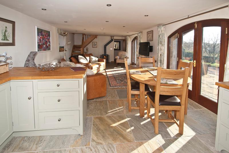 living/kitchen and dining areas are open plan making this a spacious and welcoming space