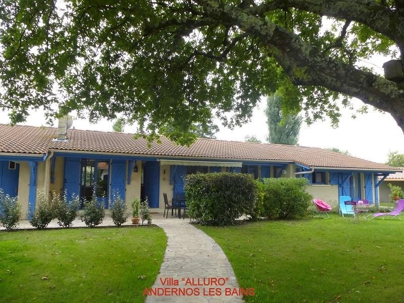 Vue générale de la villa 'ALLURO'