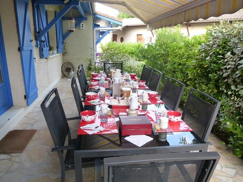 Bed and Breakfast in Terrasse