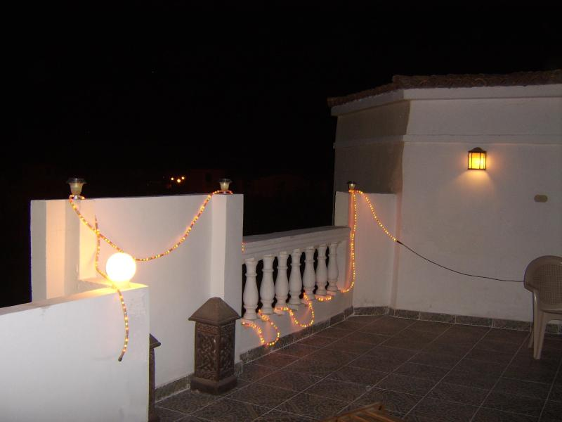 Roof Terrace at night