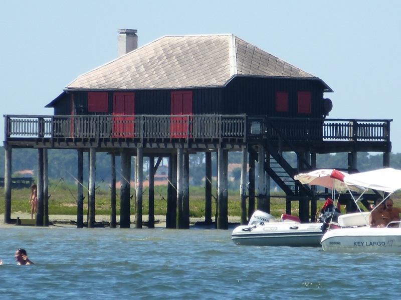 Hütte Tchanquée der Vogel-Insel