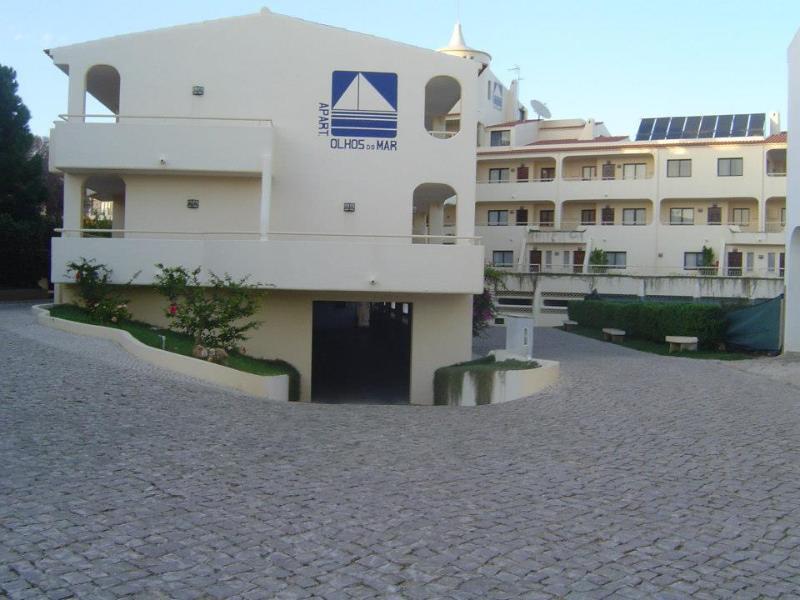 Vista geral do complexo dos apartamentos