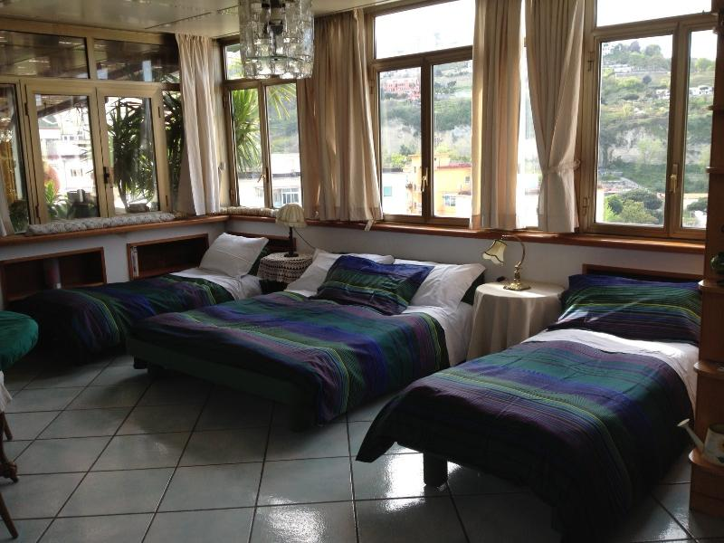 Casa del Sole for 4 people, 1 double bed and 2 single beds