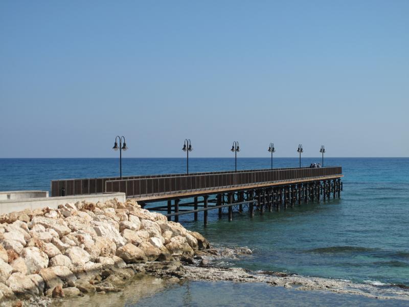 New Pier on Pernera - Protaras Footpath