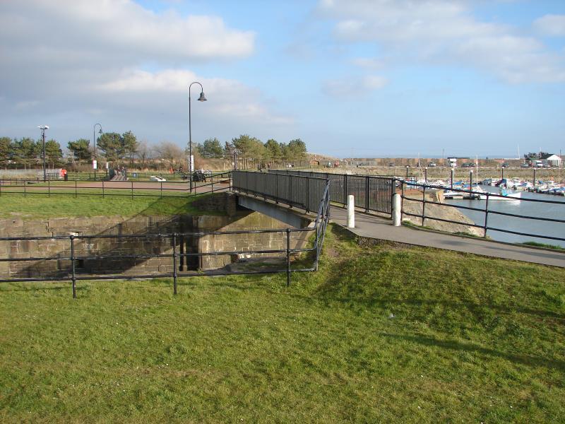 Foot Bridge over The Harbour