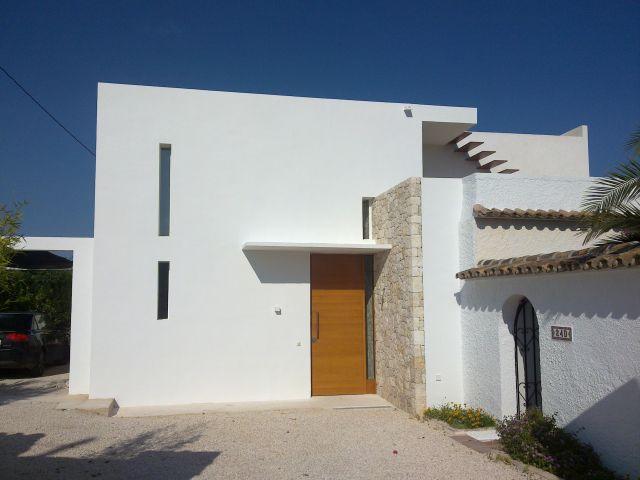 Villa con vistas al mar, juntó a la playa y Wifi, location de vacances à Benissa