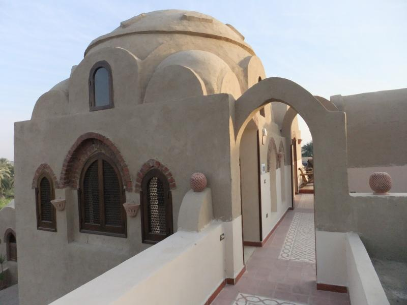 Domed archways leading through to rooftop terrace