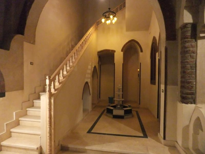 Enter the Villa through the beautiful courtyard with fountain