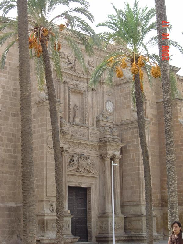Facade of one of Almeria buildings, if you miss town