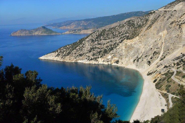 famous Myrtos 4km away