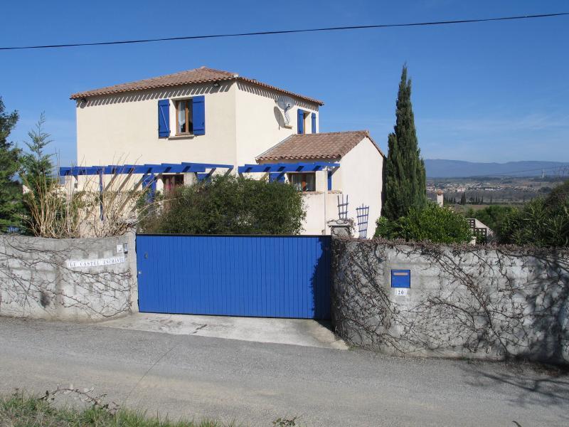 The Entrance to Le Castel