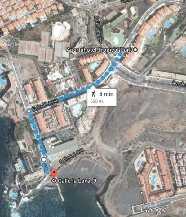 Vista Aerea. Localizacion Complejo y Playa.